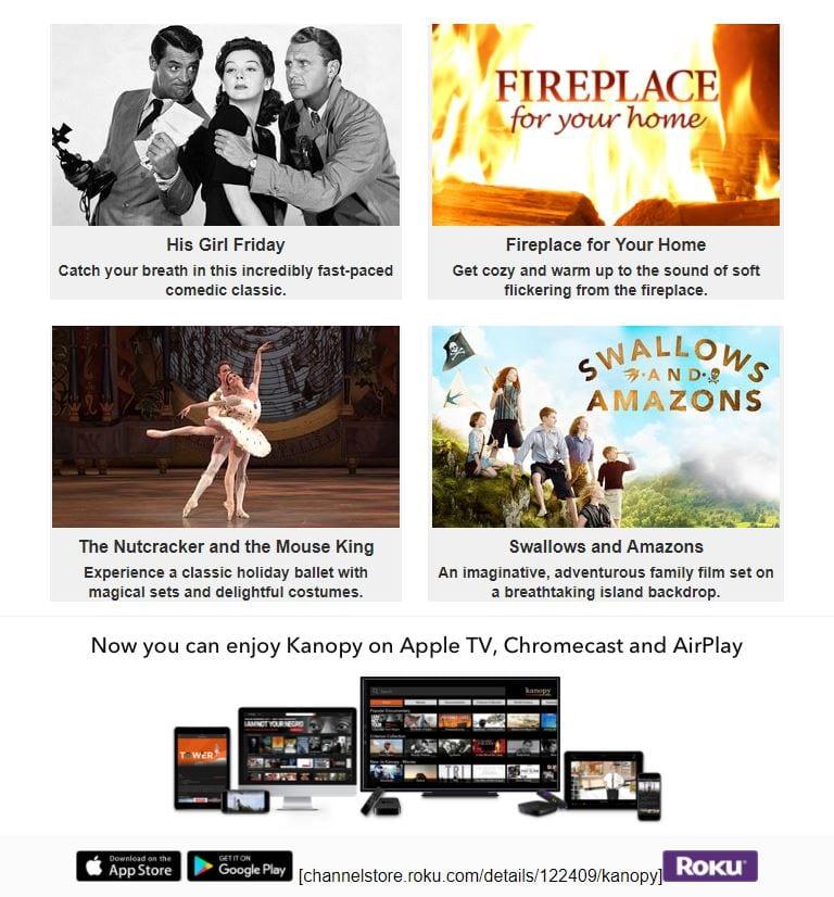 NEW service: stream movies on Kanopy | Sanibel Public Library