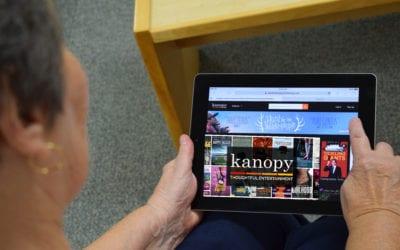 NEW service: stream movies on Kanopy