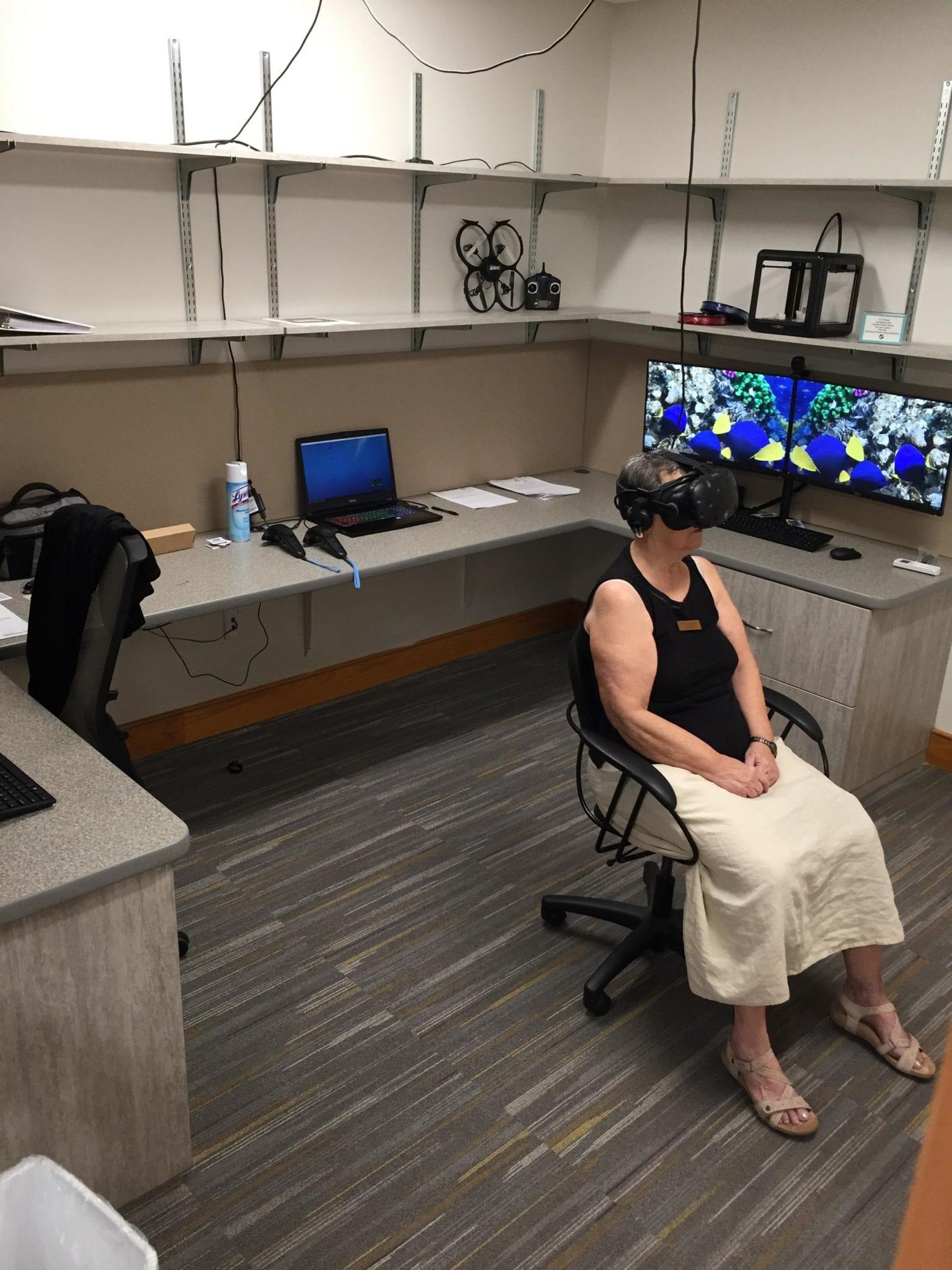 Rebecca Moss VR seated