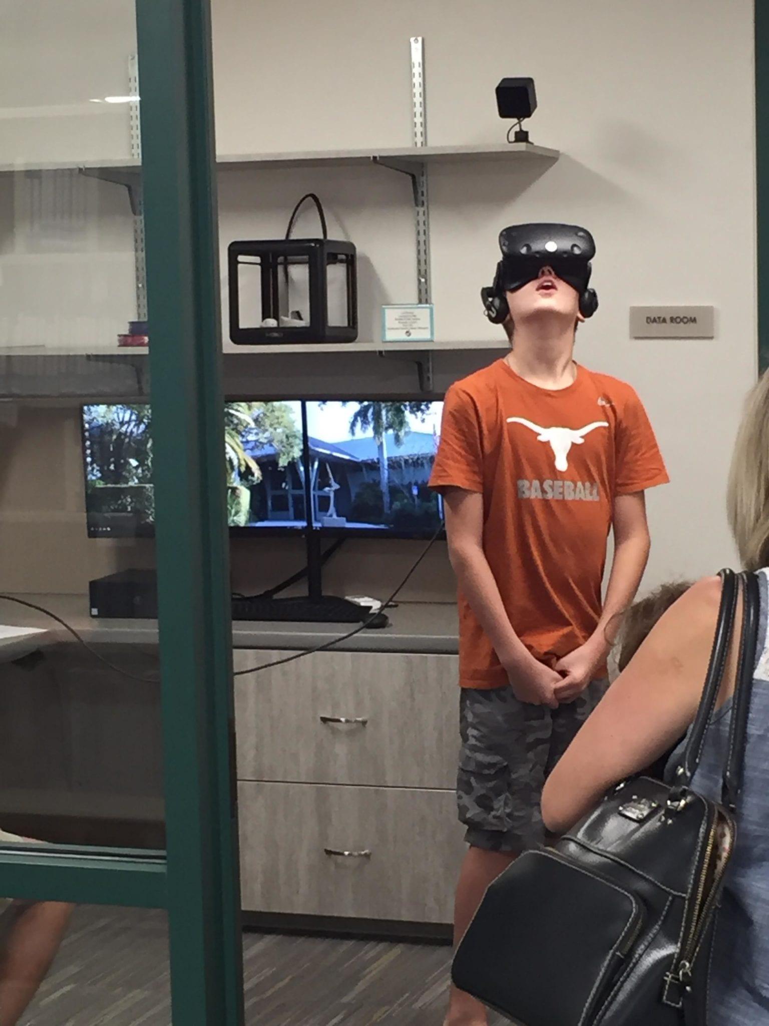 VR boy teen