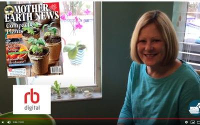 Regrowing Veggies from Food Scraps – Plus RB Digital app, April 2020