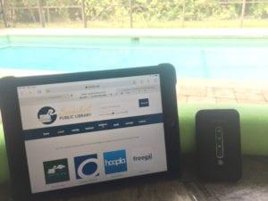 coolpad wifi hotspot with iPad