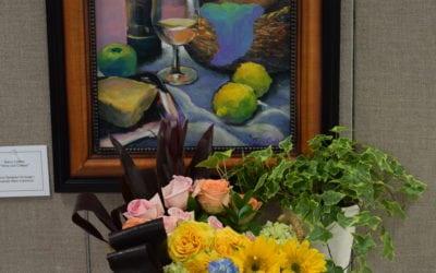 Art in Bloom 2021 at Sanibel Public Library